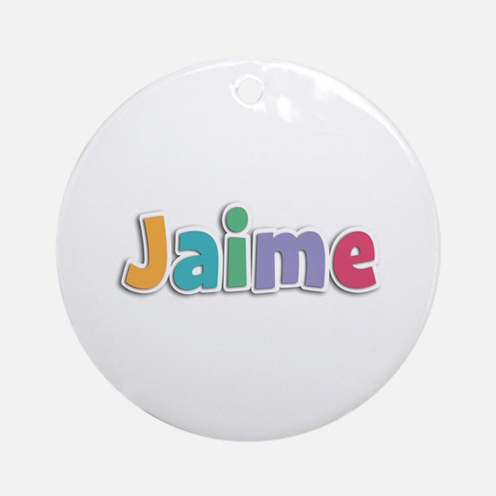 Jaime Spring11 Round Ornament