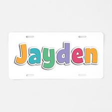 Jayden Spring11 Aluminum License Plate