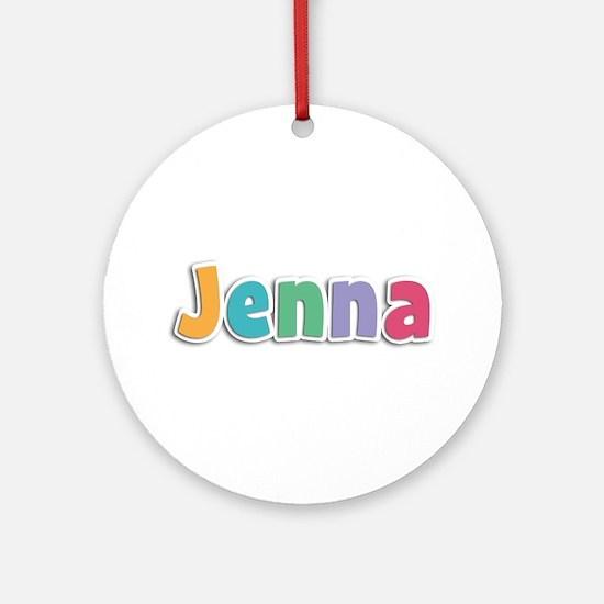 Jenna Spring11 Round Ornament