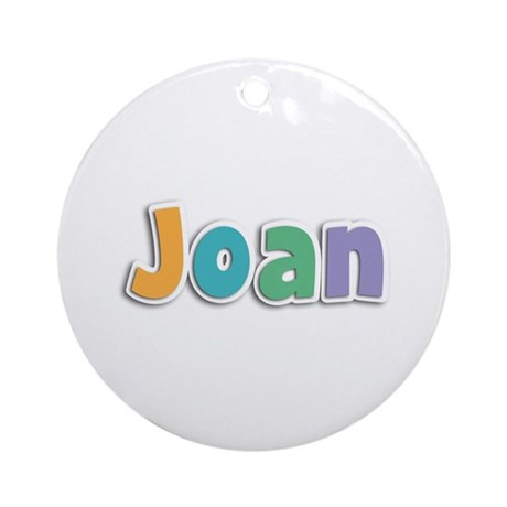 Joan Spring11 Round Ornament