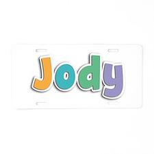 Jody Spring11 Aluminum License Plate