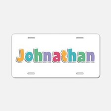 Johnathan Spring11 Aluminum License Plate