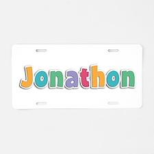 Jonathon Spring11 Aluminum License Plate