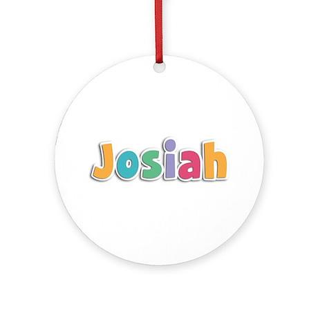 Josiah Spring11 Round Ornament