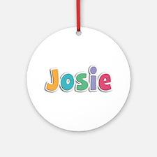 Josie Spring11 Round Ornament