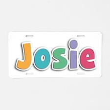 Josie Spring11 Aluminum License Plate