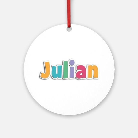 Julian Spring11 Round Ornament