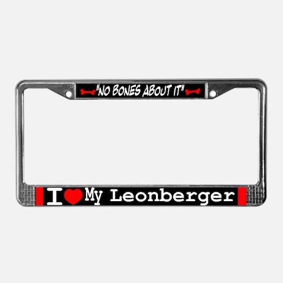 NB_Leonberger License Plate Frame