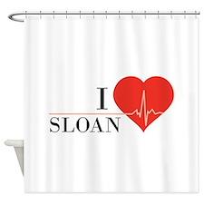 I love Sloan Shower Curtain