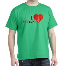 I love Sloan T-Shirt