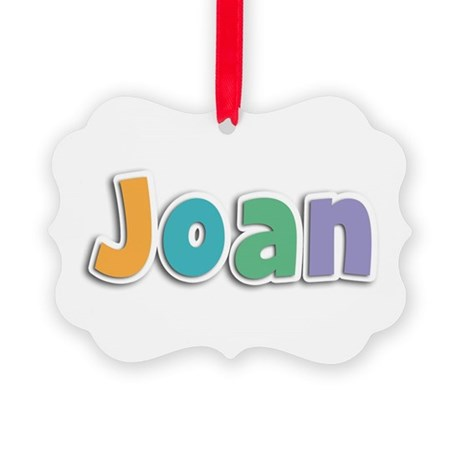 Joan Spring11 Picture Ornament