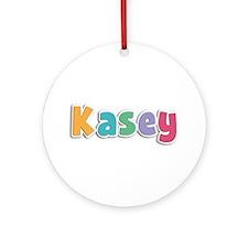 Kasey Spring11 Round Ornament