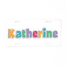 Katherine Spring11 Aluminum License Plate