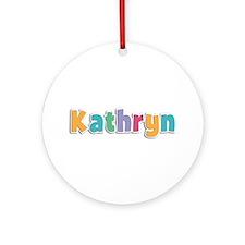 Kathryn Spring11 Round Ornament