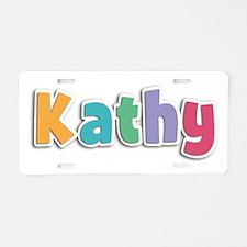 Kathy Spring11 Aluminum License Plate