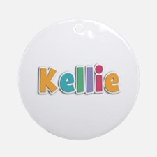 Kellie Spring11 Round Ornament