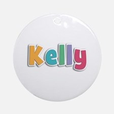 Kelly Spring11 Round Ornament
