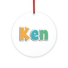 Ken Spring11 Round Ornament