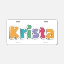 Krista Spring11 Aluminum License Plate