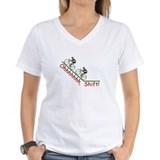 Bicycle Womens V-Neck T-shirts