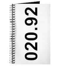 020.92<br> Journal