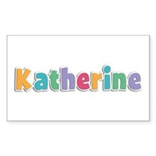 Katherine Spring11 Rectangle Decal