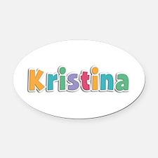 Kristina Spring11 Oval Car Magnet