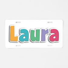 Laura Spring11 Aluminum License Plate