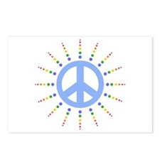 Peace Burst Postcards (Package of 8)