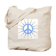 Peace Burst Tote Bag