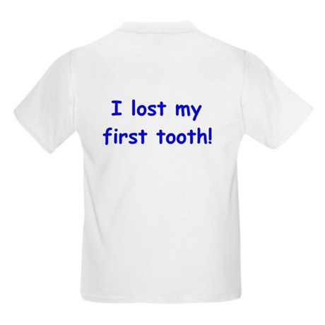 I lost my First Tooth!