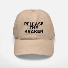 Release Kraken Baseball Baseball Cap