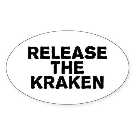 Release Kracken Sticker (Oval)