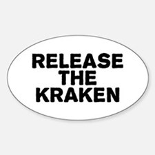 Release Kraken Sticker (Oval)