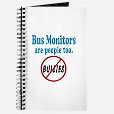 No Bullying Bus Monitors Journal