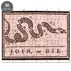 """Join, Or Die!"" Puzzle"
