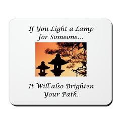 Light a Lamp... Mousepad