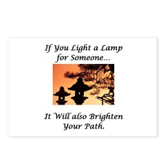 Light a Lamp... Postcards (Package of 8)