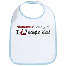 Norwegian Buhund Gifts Bib