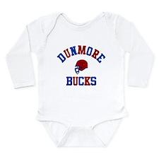 Cool Footballers Long Sleeve Infant Bodysuit