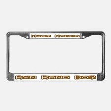 What Would Ayn Rand Do 8 License Plate Frame