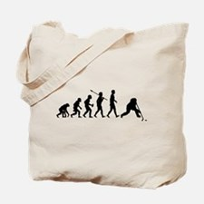 Ice Hockey Tote Bag