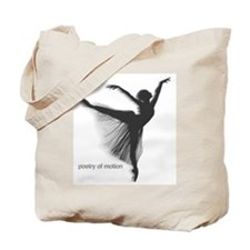 Poetry of Motion Tote Bag