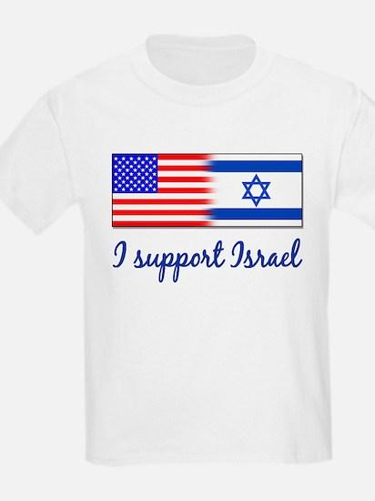 I Support Israel Kids T-Shirt