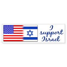 I Support Israel Bumper Bumper Bumper Sticker