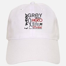 Hero in Life 2 Brain Cancer Baseball Baseball Cap