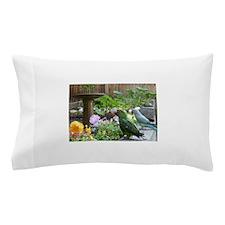 Parrots in the Garden Pillow Case