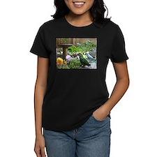 Parrots in the Garden Tee
