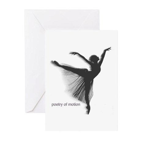 Poetry of Motion Greeting Cards (Pk of 10)