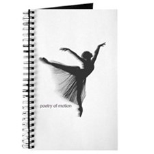 Poetry of Motion Notebook